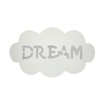 Diffusore per applique componibile Fumetto dream bianco ø 1 cm