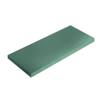 Mensola Spaceo verde L 56 x P 20, sp 1,8 cm