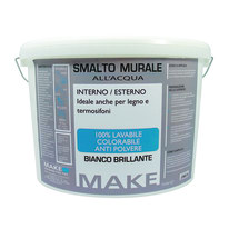 Smalto murale bianco brillante Make 5 L