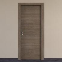 Porta per hotel battente Radisson tabacco 70 x H 210 cm dx