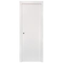 Porta da interno scorrevole Belvedere bianco 80 x H 210 cm reversibile