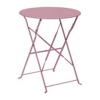 Tavolo pieghevole Color, Ø 60 cm lilla