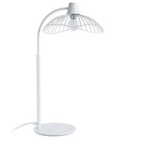 Lampada da tavolo Kasteli bianco