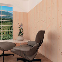 Perlina prima scelta abete grezzo naturale 10 x 125 x 2700 mm