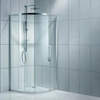 Box doccia scorrevole Purity 77.5-79 x 77,5-79, H 195 cm cristallo 6 mm trasparente/silver