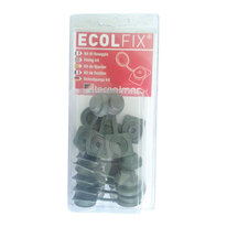 Copriviti Ecolfix grigio verde, confezione da 10 pezzi