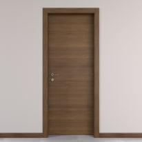 Porta da interno battente Stenophylla Cacao 70 x H 210 cm reversibile