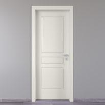 Porta da interno battente Chelsea bianco 80 x H 210 cm sx
