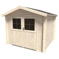 casetta in legno grezzo Primula Plus 5,9 m², spessore 28 mm