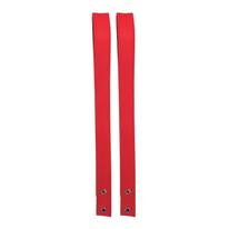Reggimensola Feltro rosso 102 x 4 cm