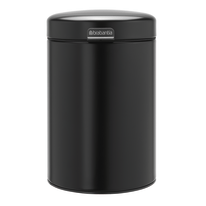 Pattumiera Wall Mounted Bin newIcon nero 3 L