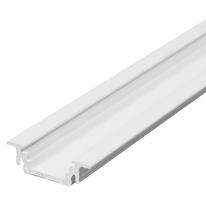 Profilo incasso alluminio bianco 2m