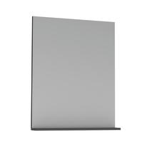 Specchio Opale grigio lucido 60 x 76 cm