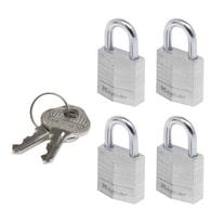 4 luchetti rettangolari a chiave arco standard 20 mm