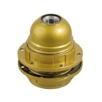Portalampada attacco E27 (grande) oro