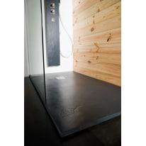 Piatto doccia resina Pizarra 80 x 70 cm antracite