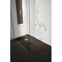 Piatto doccia resina Liso 180 x 70 cm cacao