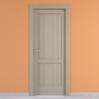 Porta da interno battente Vermeer rovere sbiancato 70 x H 210 cm dx