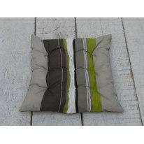 Cuscino seduta a righe 37 x 40 cm