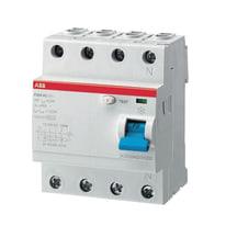 Interruttore differenziale puro ABB ELF204-63003A 3P+N 63 A