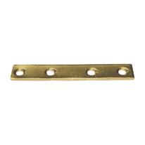 Lastrina dritta 100 x 15 mm, in acciaio zincato