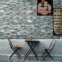 Rivestimento decorativo Murales grigio