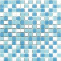 Mosaico Classic 32,7 x 32,7 cm bianco, azzurro