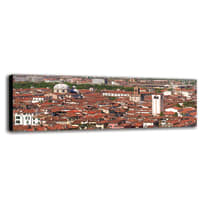 quadro su tela Brescia veduta 40x125