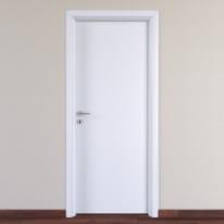 Porta da interno battente Pearl bianco 70 x H 210 cm reversibile