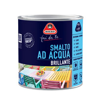 Smalto Boero all'acqua cuoio brillante 0.5 L