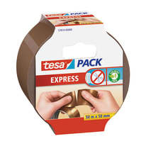 Nastro imballo Pack express Tesa marrone 50 m x 55 mm