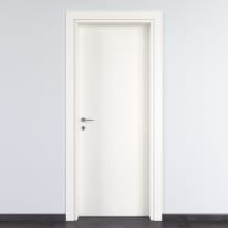 Porta per bed & breakfast battente Glasgow bianco 70 x H 210 cm dx