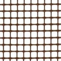 Rete Quadra 10 H 1 x L 3 m marrone