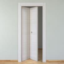 Porta da interno pieghevole Pigalle palissandro chiaro 70 x H 210 cm sx