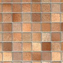 Pellicola adesiva piastrella marrone Lucido 67,5 cm x 2 m