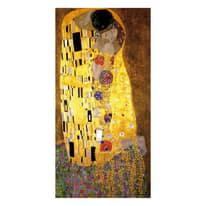 quadro su tela Bacio di Klimt 80x180
