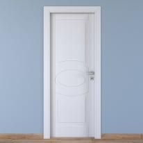 Porta da interno battente Street bianco 70 x H 210 cm sx