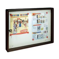 Bacheca porta avvisi singola Formato A3, formato rivista, L 55 x H 40 x P  5 cm
