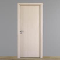 Porta da interno battente Notting Hill pino sbiancato 60 x H 210 cm reversibile