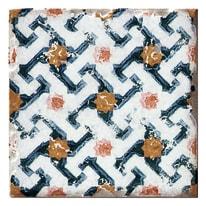 Piastrella con decoro Mistral multicolor 10 x 10 cm