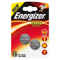 Pila a bottone Litio CR2430 Energizer 2430 blister 2pz
