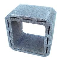 Canna fumaria in cemento 30 x 30 x 25 cm