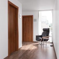 Porta per bed & breakfast battente Tuscan Hills noce biondo 80 x H 210 cm dx
