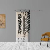 Porta da interno scorrevole Tracce 88 x H 220 cm dx