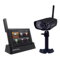 """Kit videosorveglianza Konelco IPDVR2HD wireless monitor 7"""" DVR P2P e telecamera HD 1MP"""