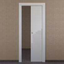 Porta da interno scorrevole Massaua white bianco 70 x H 210 cm reversibile