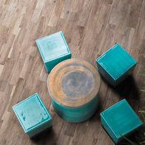 Piastrella Hard 15 x 61 cm marrone