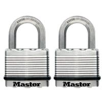 2 luchetti rettangolari a chiave arco standard 50 mm