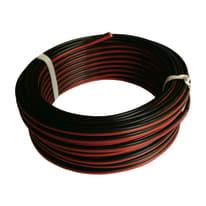 Cavo HI-FI 03VH-H Lexman nero/rosso, matassa 5 m