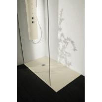 Piatto doccia resina Liso 130 x 70 cm grigio perla